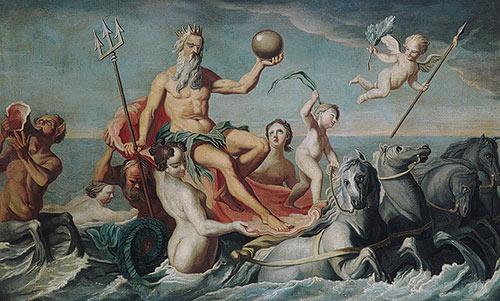 John Singleton Copley The Return of Neptune