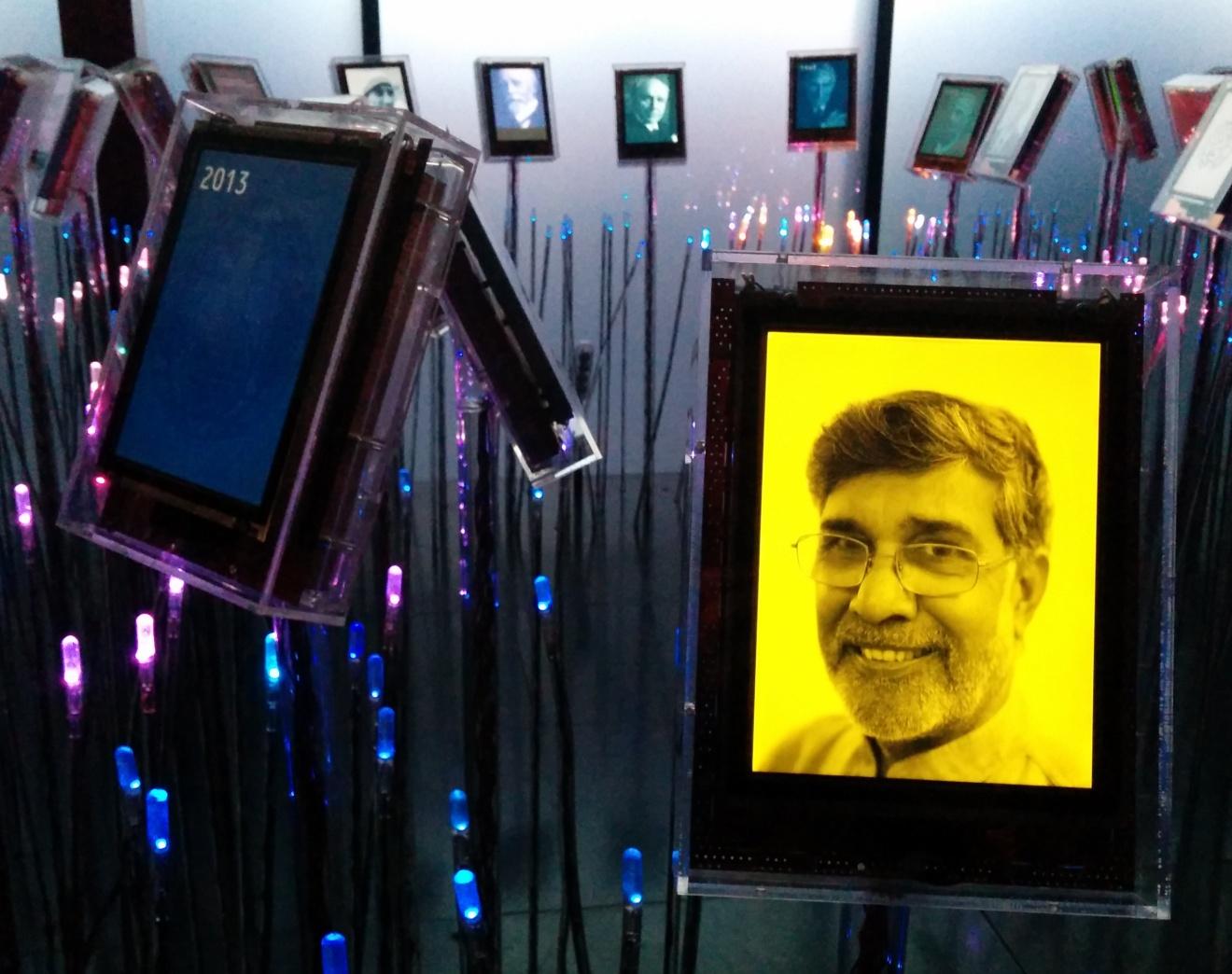 Kailash Satyarthi Nobel Garden