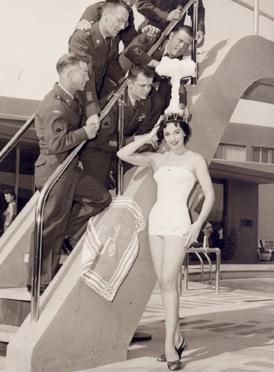 Miss Atomic Bomb Linda Lawson 1955 Las Vegas