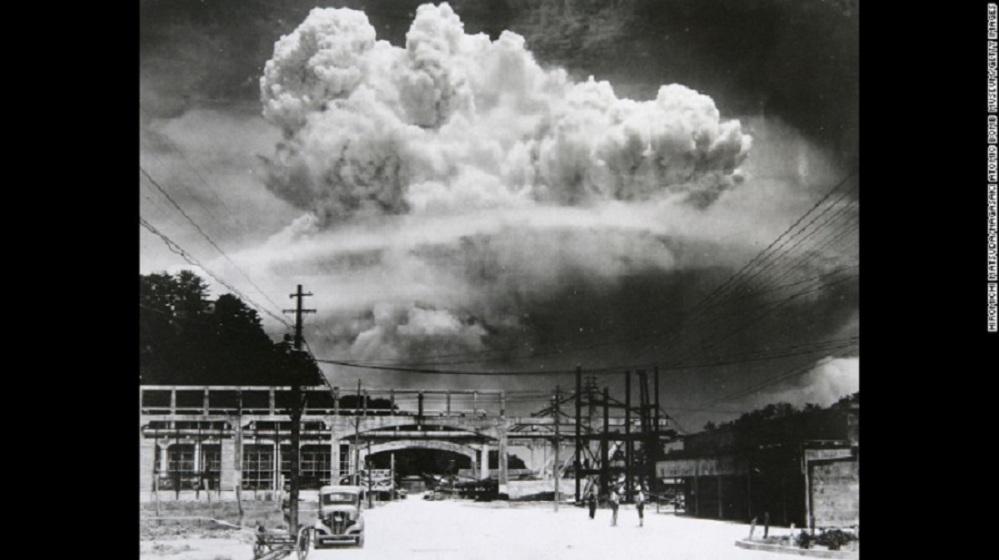 Nagasaki bomb from 6 miles Hiromichi Matsuda