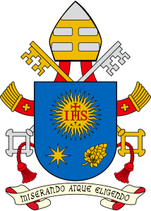 Papal Emblem of Pope Francis Mercy By Choice