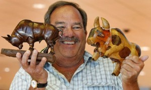 Bernie Madoff Bulls at auction