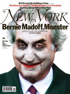 Bernie Madoff NY Magazine Cover