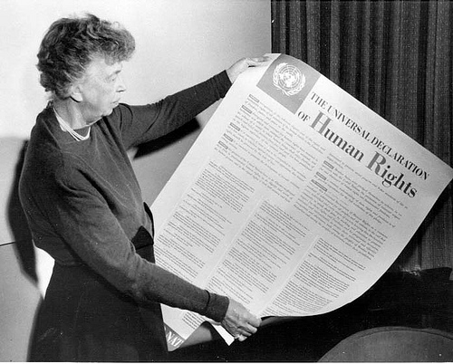 Eleanor Roosevelt Document of Human Rights