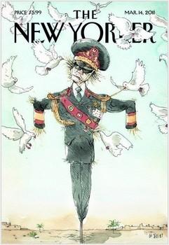 Gaddafi New Yorker