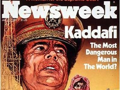 Gaddafi Newsweek Cover