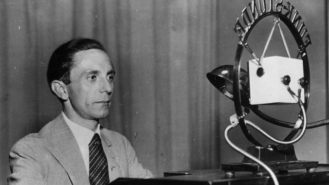 Goebbels and the radio