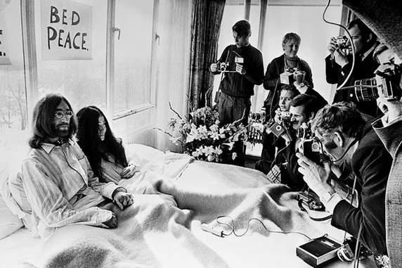 John Lennon Peace Protest