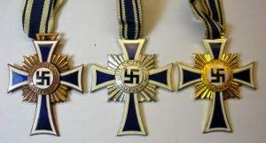 Nazi Mother's Cross Awards