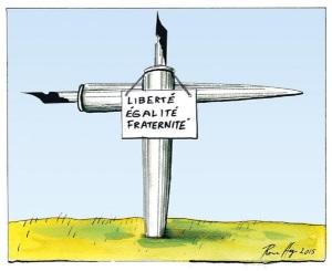 Charlie Hebdo grave