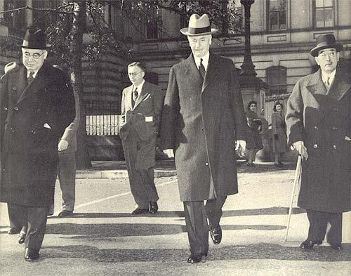 Cordell Hull with Japanese diplomats