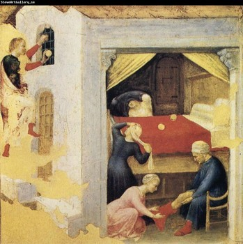Fabriano - St. Nicholas and the 3 Gold balls 1425