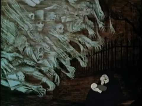 Ghosts from 1971 Christmas Carol
