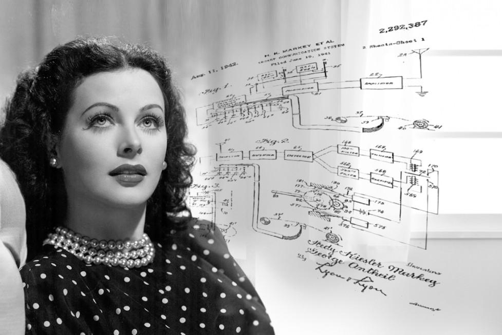 Hedy Lamarr & Patent