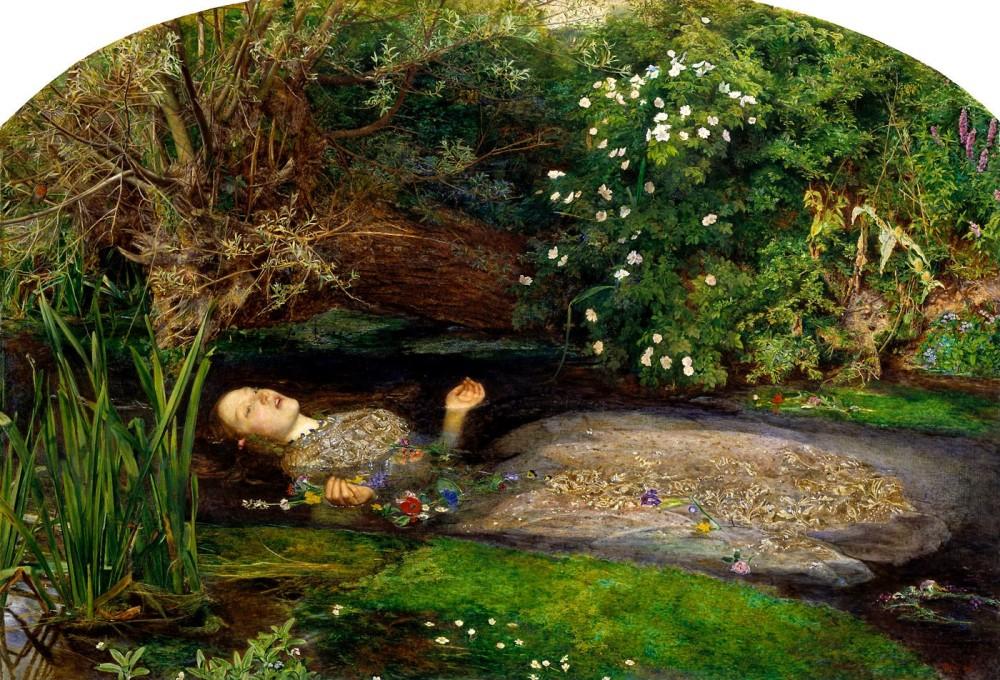 John Everett Millais Ophelia 1851