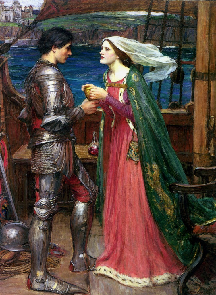 John William Waterhouse Tristan and Isolde