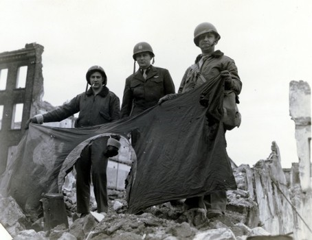 Koblenz WWII American Soldiers