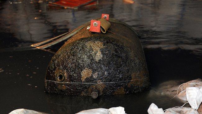 Koblenz WWII bomb
