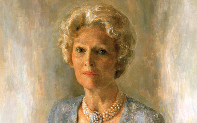 Pat Nixon White House Portrait