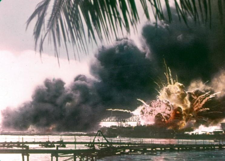 Pearl Harbor USS Shaw
