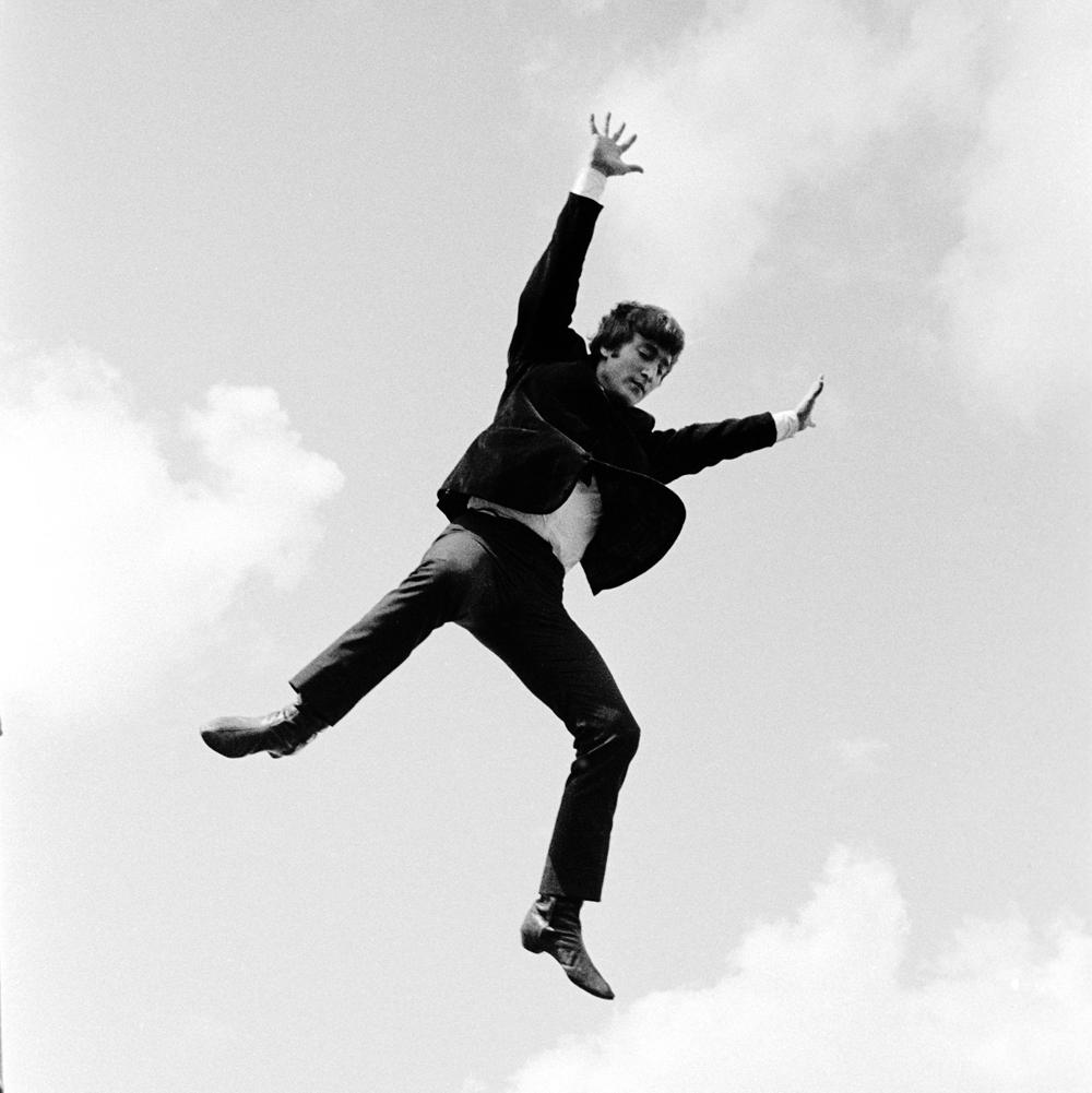 John Lennon in Air