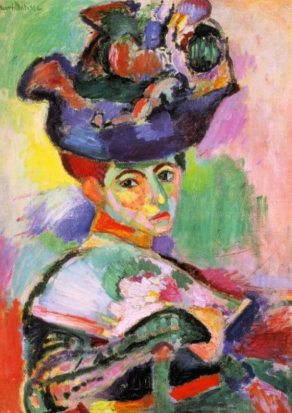 Matisse Woman with a Hat 1905