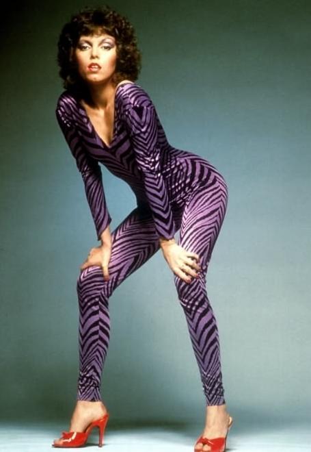 Pat Benetar Purple Leopard