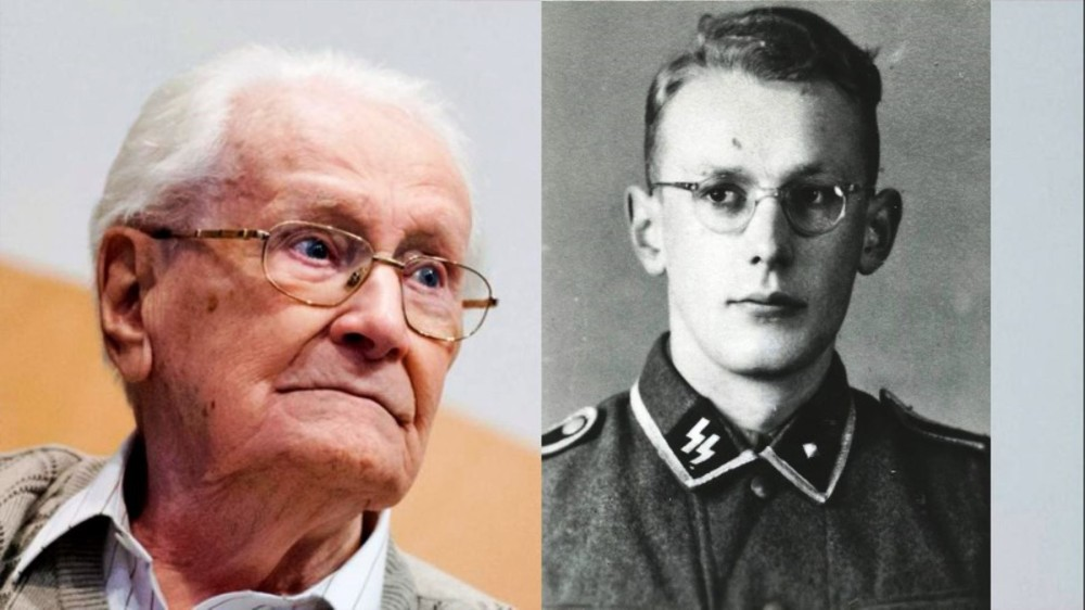 Oskar Groning Then and Now
