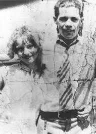 Bonnie Parker with first husband Roy Thornton