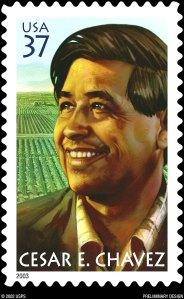 Cesar Chavez Stamp