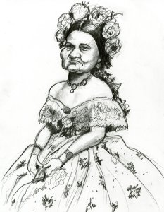 Mary Todd Lincoln Caricature
