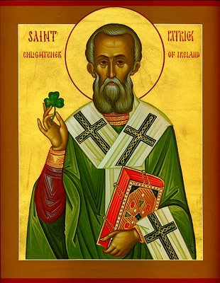 St. Patrick with Shamrock