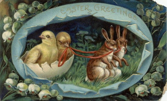 Easter Egg Chick Slaves