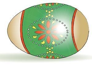 Easter Egg Zoroastrian Style