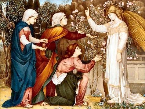 The Angel Of Easter Johne Roddam Spencer Stanhope