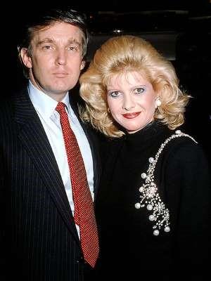 Donald & Ivana 80s style