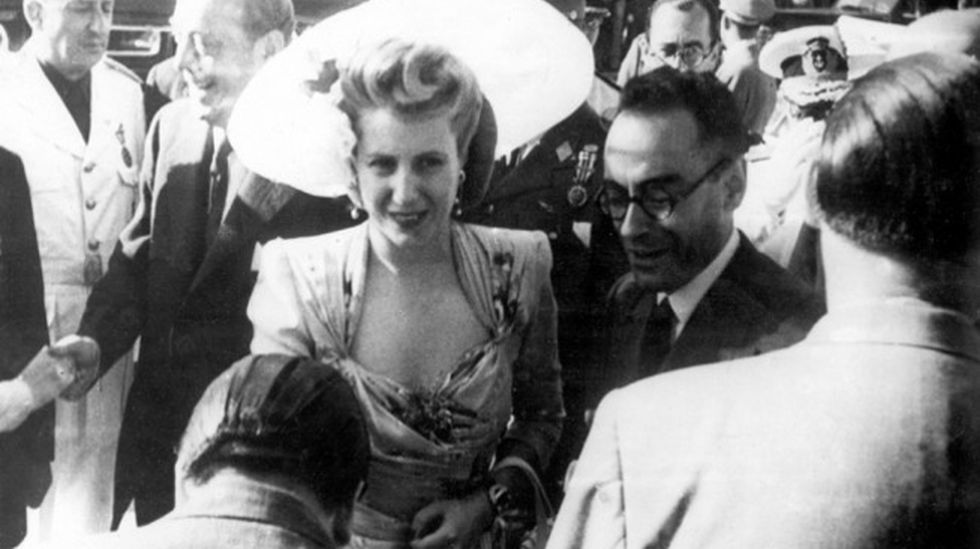 Evita and Otto Skorzeny