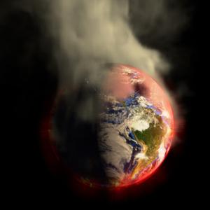 Phaeton's burning world