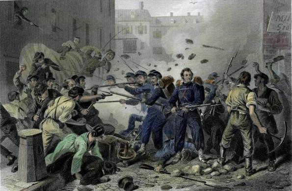 Pratt Street Riot