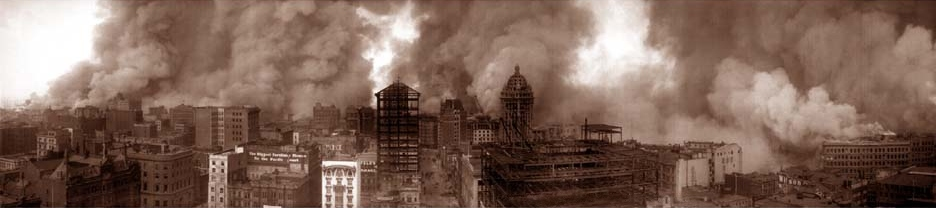 San Francisco Earthquake Fires 1906
