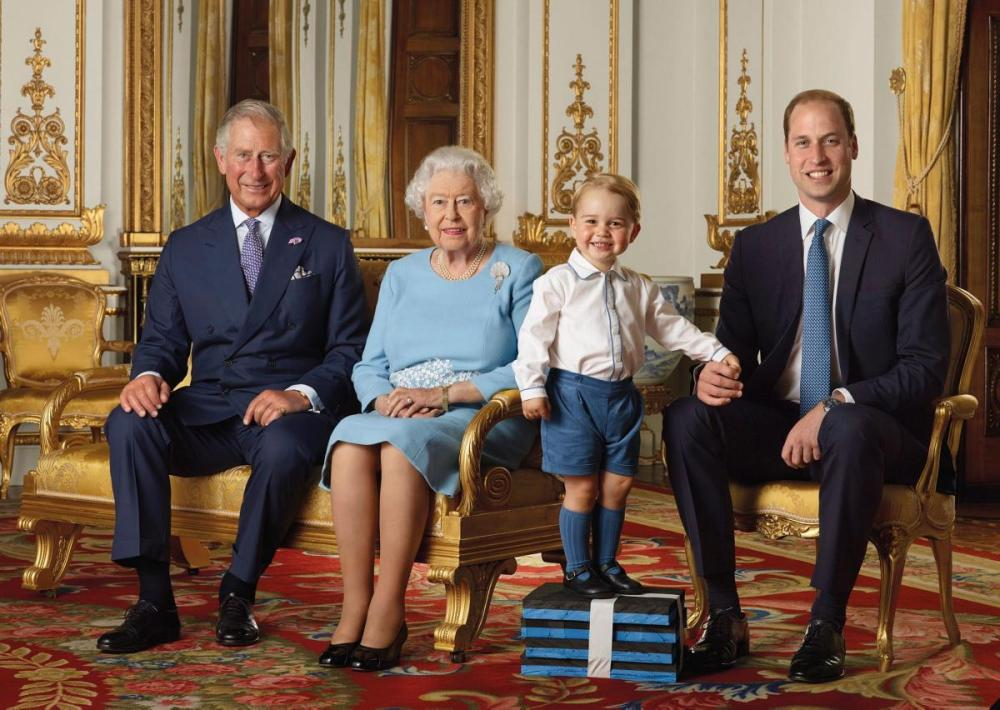Prince George with 3 Generations