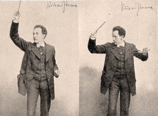 Richard Strauss in all his dualistic glory circa 1900.