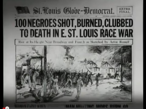 East St. Louis Riot Headline