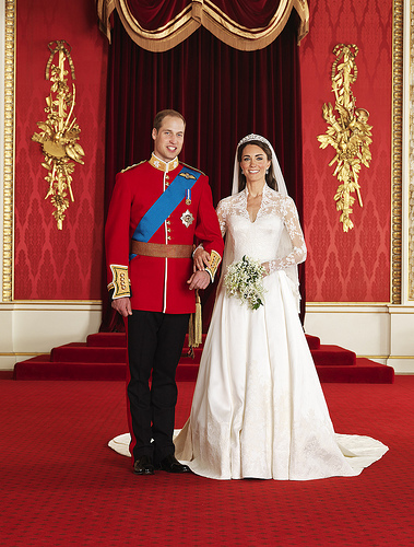 The marriage of Prince William to Kate Middleton not only counteracted the unresolved karma of disappointment over Charles and Diana's failed union, it serves as a royal example of matrimonial commitment to a new generation. (wikipedia.org)