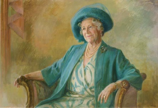 "The Queen Mum served as an icon of morale and fortitude during the War years as well as a monarch of great constitutional drive given she lived to the ripe old age of 101. Pictured above is the Queen Mum's official ""centenarian"" portrait commemorating her 100th birthday in 2000."