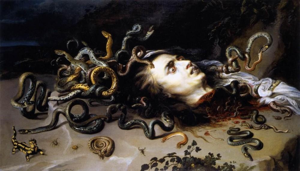Medusa by Rubens