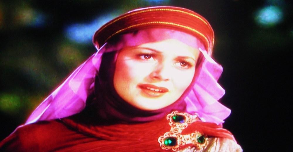 Olivia de Havilland as Maid Marian