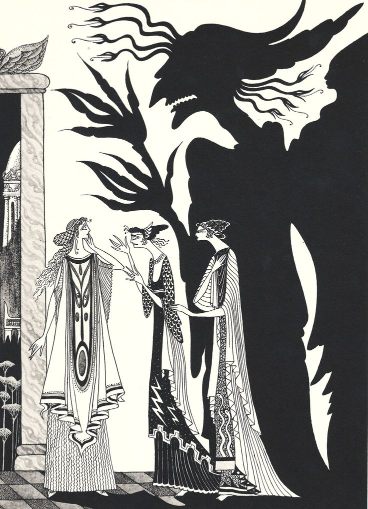 Psyche and her sisters by Errol Le Cain