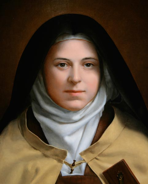 "Mother Teresa chose the name ""Therese"" in honor of her most admired saint, Therese of Lisieux. The French Carmelite nun called herself the ""Little Flower of Jesus"" and promoted an approach towards Life she called the ""Little Way"". According to St Therese, even in the most mundane or trivial of tasks one could see the face of God. When Mother Teresa first began her life of service as a novitiate nun the name of Therese had already been taken, so she opted for the Spanish spelling of ""Teresa"" instead."