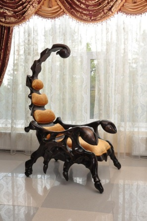 Scorpion Lounge Chair - Perfect for those quiet times when you need to plan secretly rubbing someone off or reek vengeance on an ex that forgot you existed.